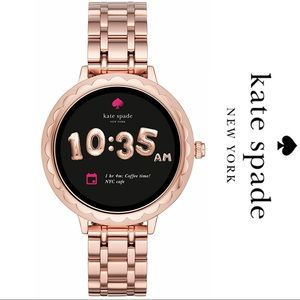 NWT ♠️ Kate Spade Scallop Bracelet  Smart Watch